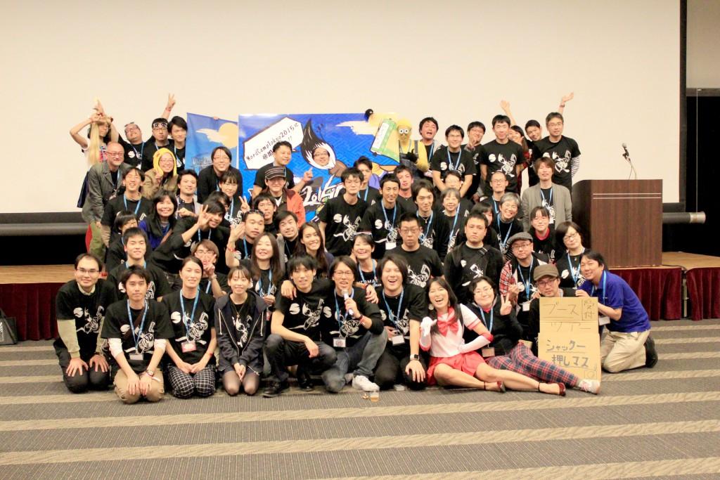 WordCamp Tokyo 2015 スタッフ集合写真