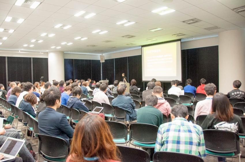 WordCamp 2015 セッションの様子