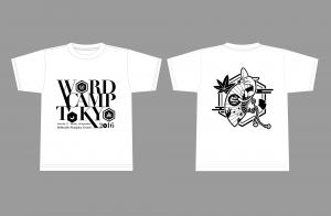 WordCamp Tokyo atendee T-shirt (white)